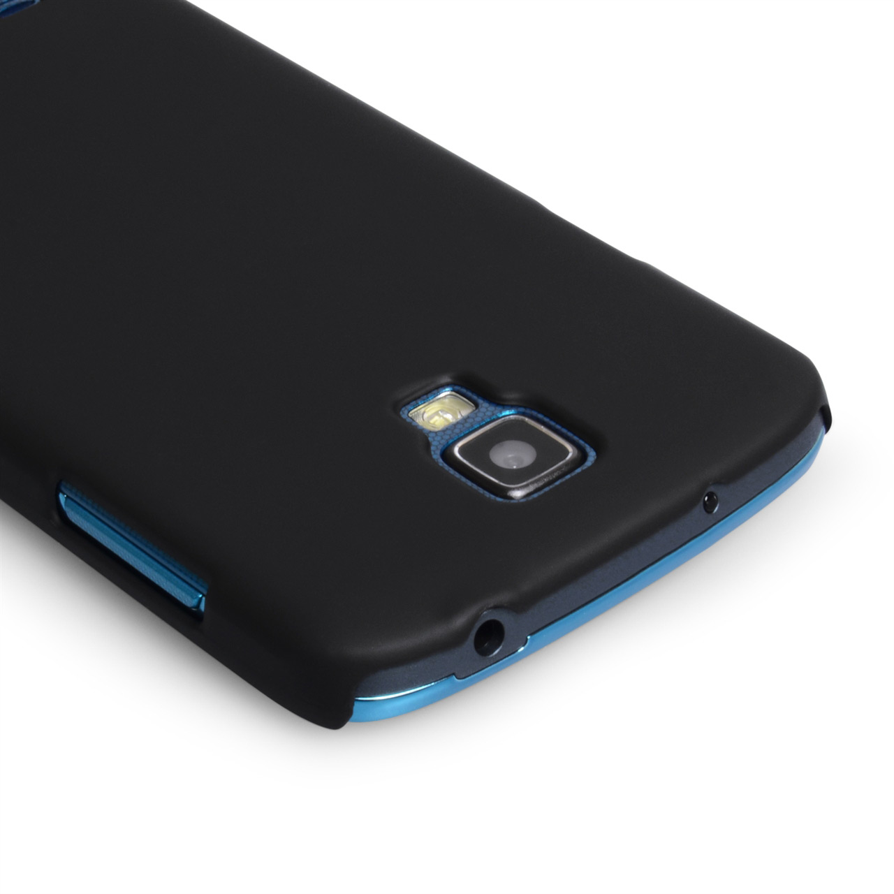 YouSave Accessories Samsung Galaxy S4 Active Hard Hybrid Case - Black
