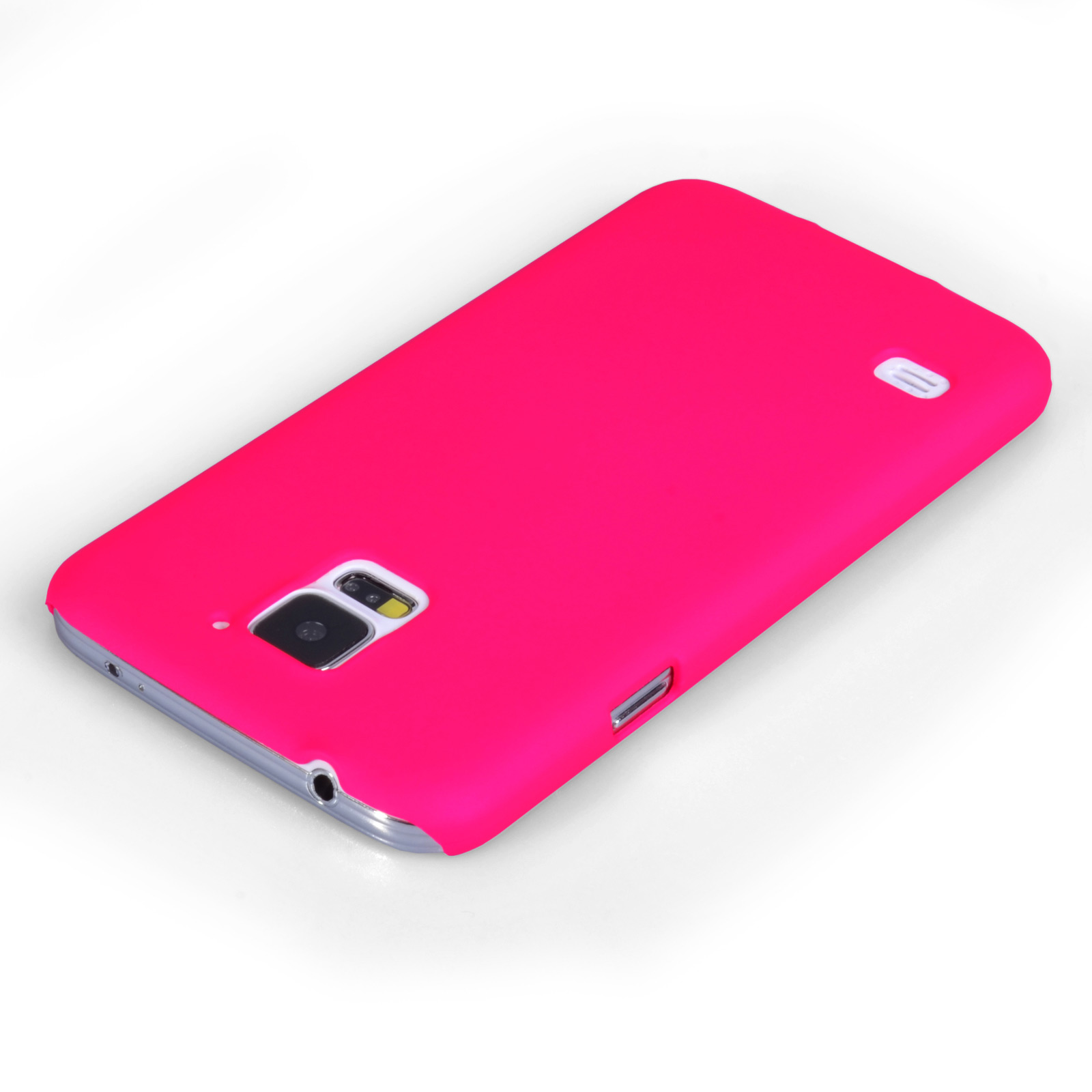 YouSave Accessories Samsung Galaxy S5 Hard Hybrid Case - Hot Pink