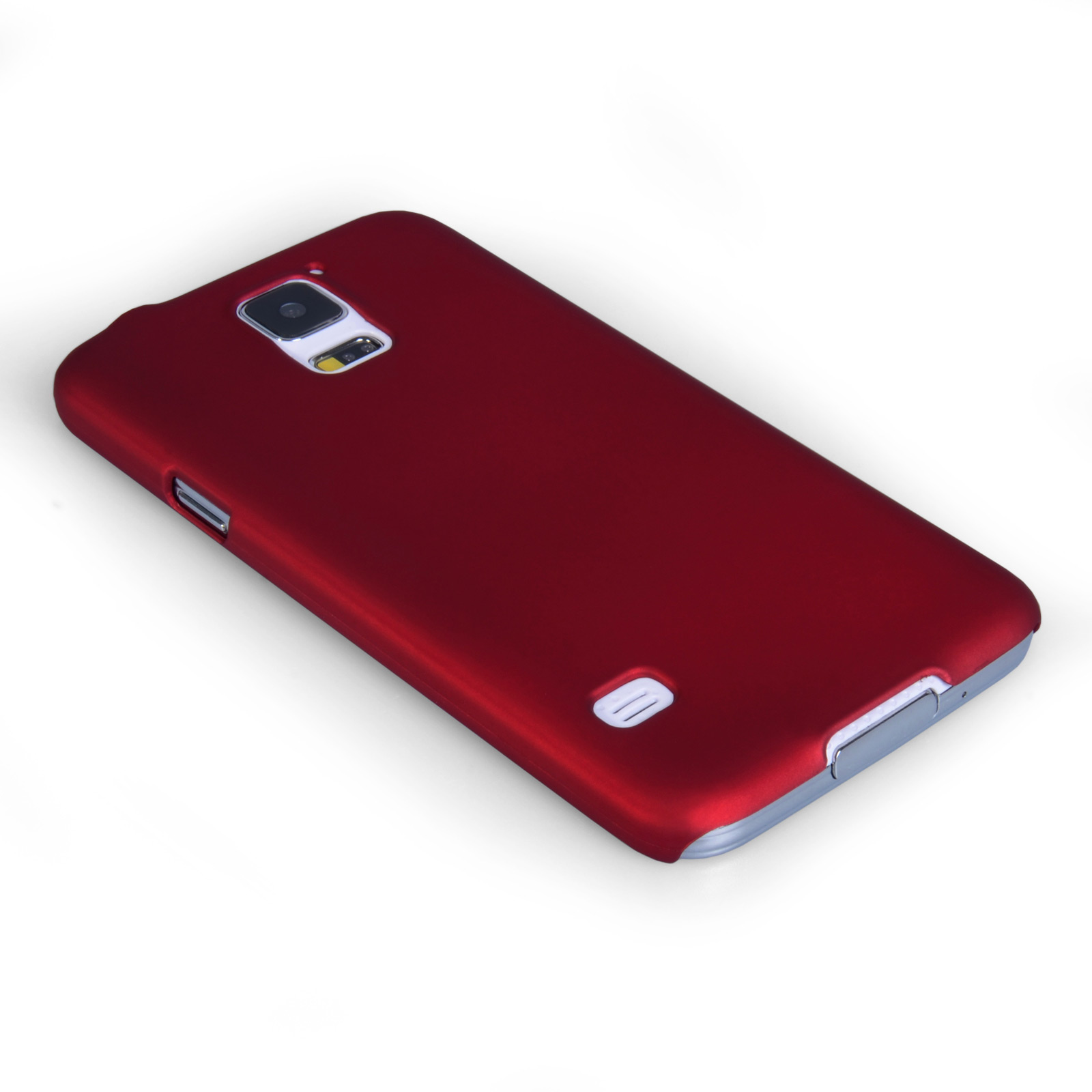 YouSave Accessories Samsung Galaxy S5 Hard Hybrid Case - Red