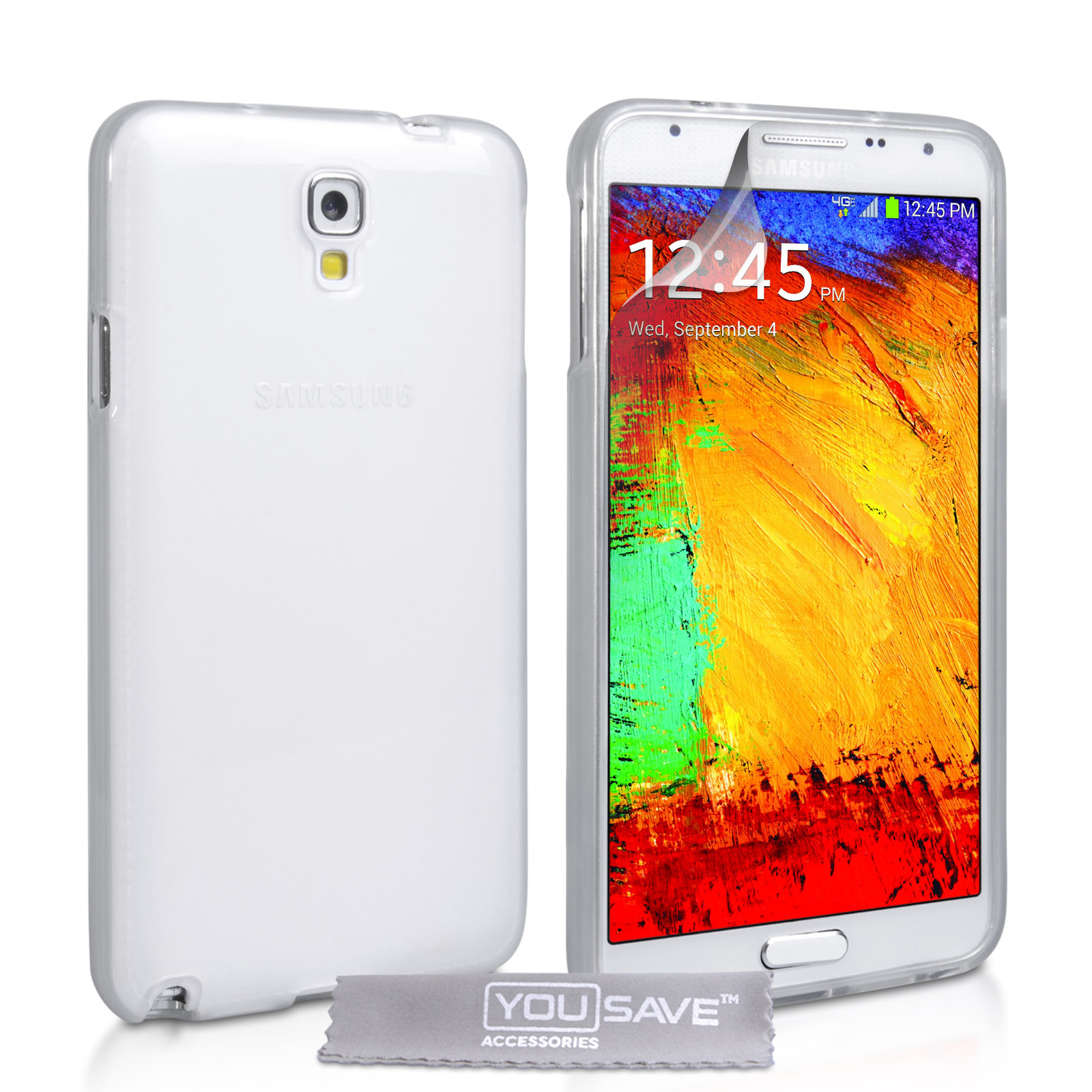 YouSave Samsung Galaxy Note 3 Neo Silicone Gel Case - Clear