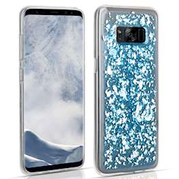 Samsung Galaxy S8 Tinfoil Case - Blue