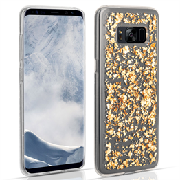 Samsung Galaxy S8 Plus Tinfoil Case - Gold