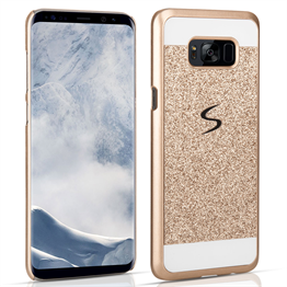 Samsung Galaxy S8 Plus Flash Diamond Case - Gold