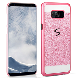 Samsung Galaxy S8 Plus Flash Diamond Case - Pink