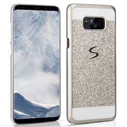 Samsung Galaxy S8 Plus Flash Diamond Case - Silver