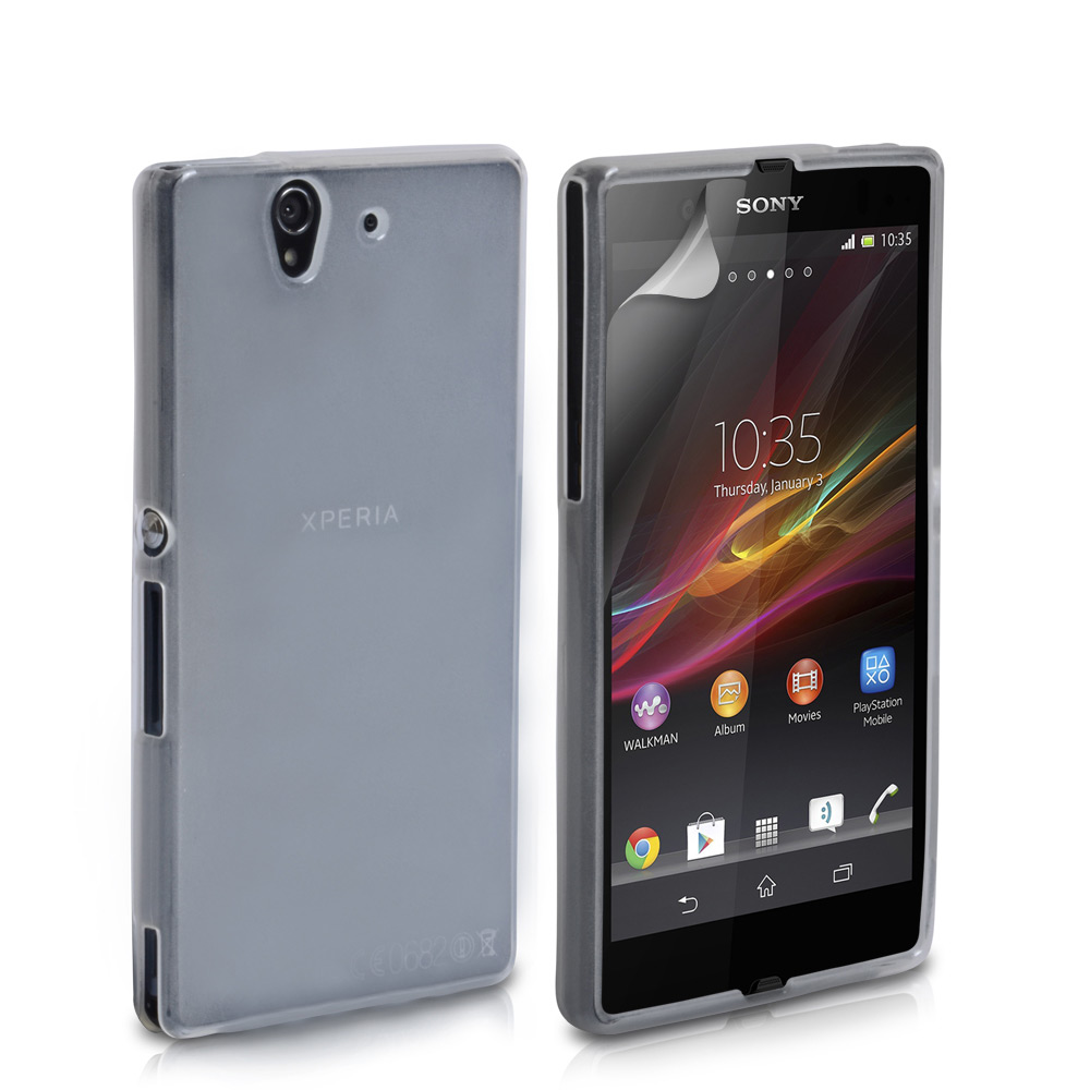 YouSave Accessories Sony Xperia Z Gel Case - Clear