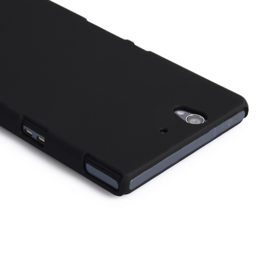YouSave Accessories Sony Xperia Z Hard Hybrid Case - Black