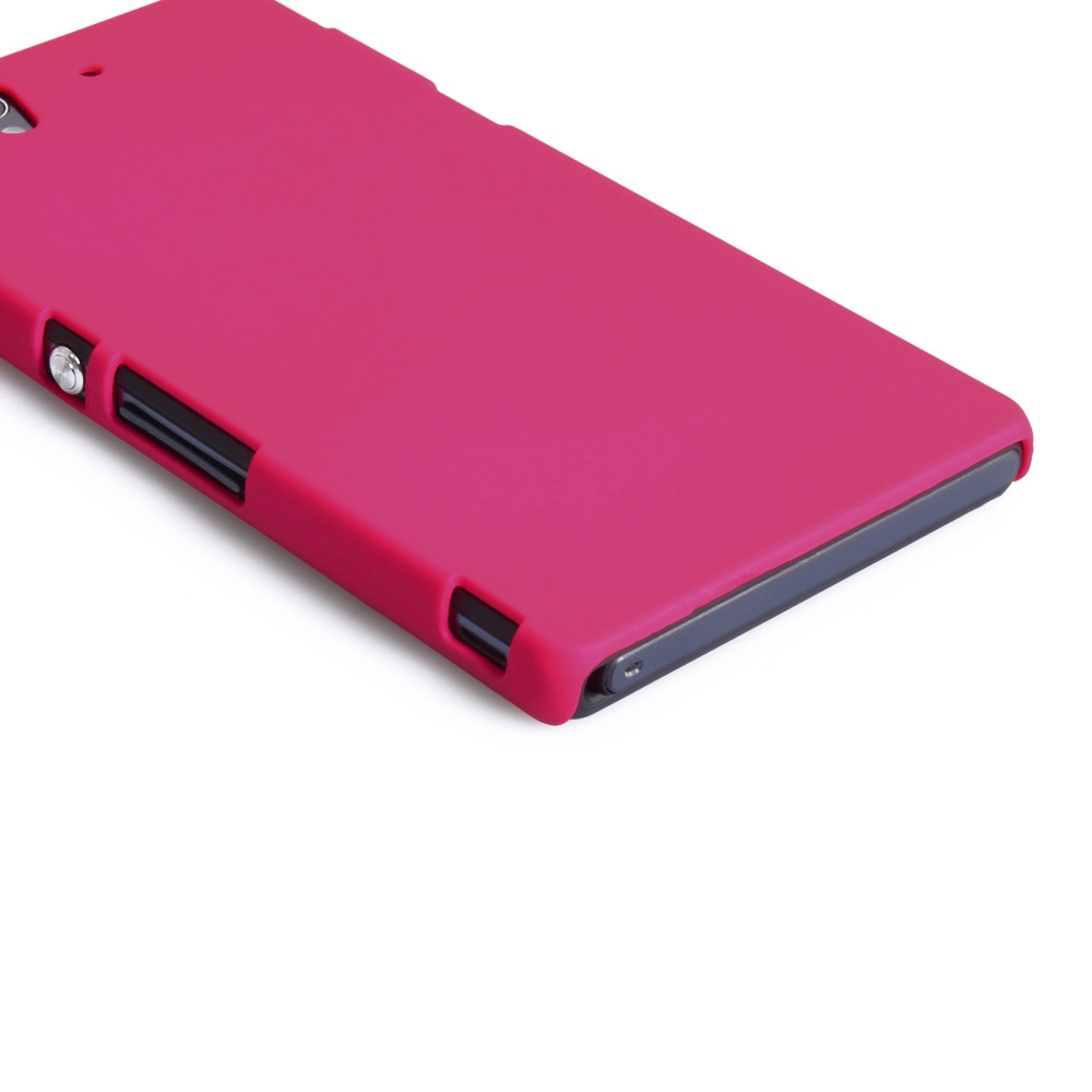 YouSave Accessories Sony Xperia Z Hard Hybrid Case - Hot Pink