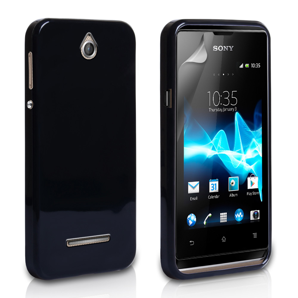 YouSave Accessories Sony Xperia E Gel Case - Black