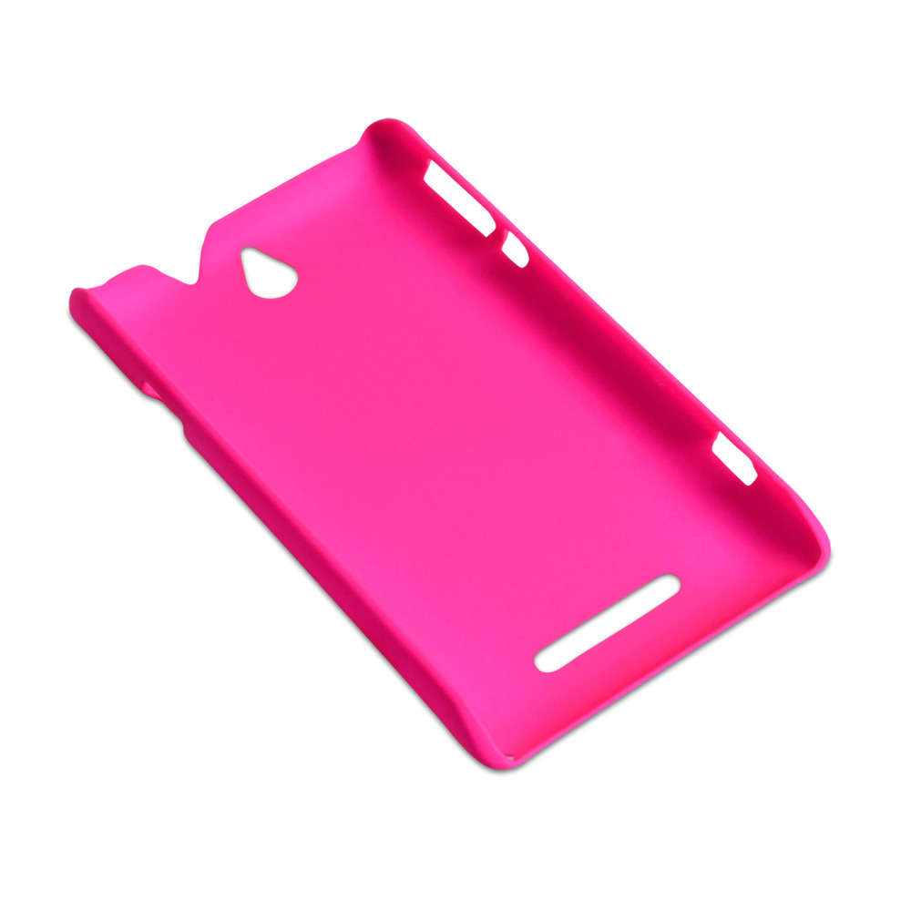YouSave Accessories Sony Xperia E Hard Hybrid Case - Hot Pink