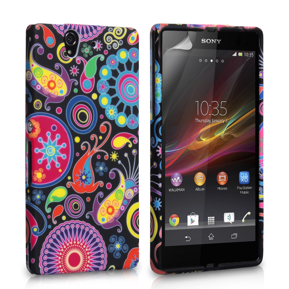 YouSave Accessories Sony Xperia E Jellyfish Silicone Gel Case