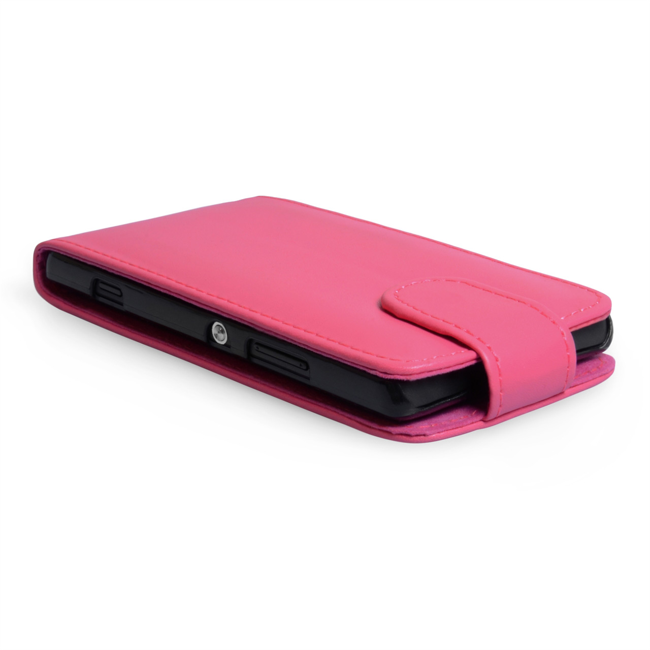 YouSave Accessories Sony Xperia SP Leather-Effect Flip Case - Hot Pink