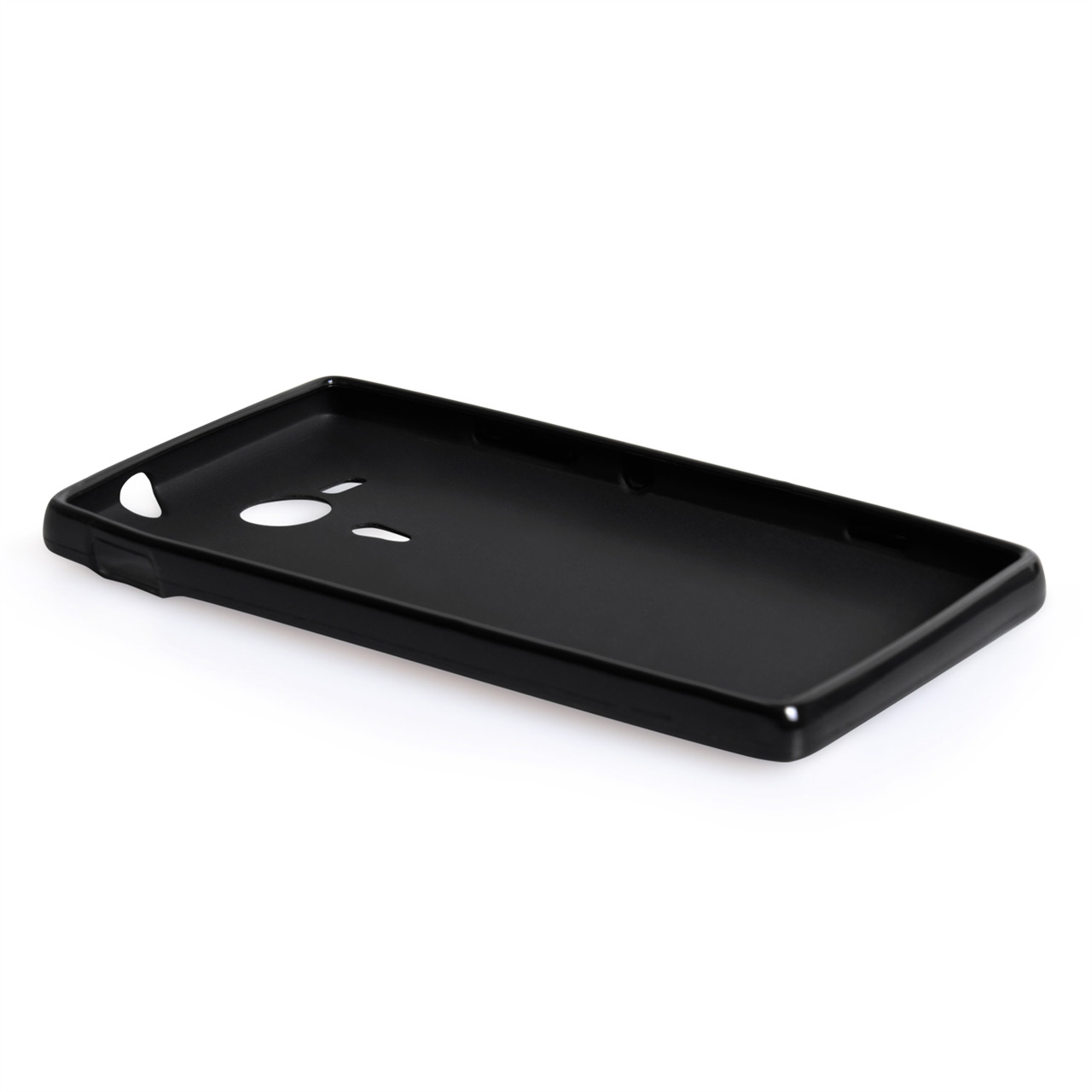 YouSave Accessories Sony Xperia SP Silicone Gel Case - Black