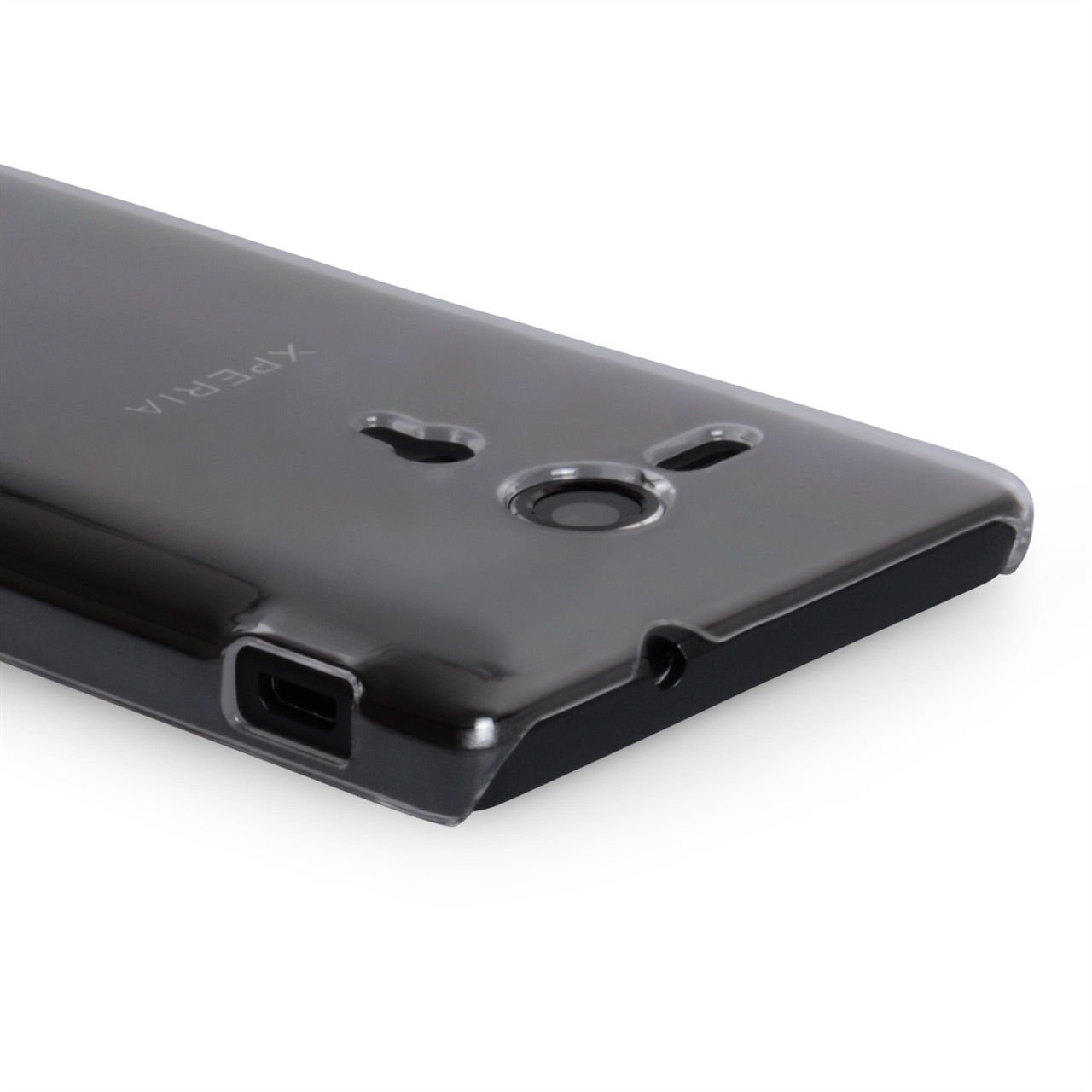 YouSave Accessories Sony Xperia SP Hard Case - Clear