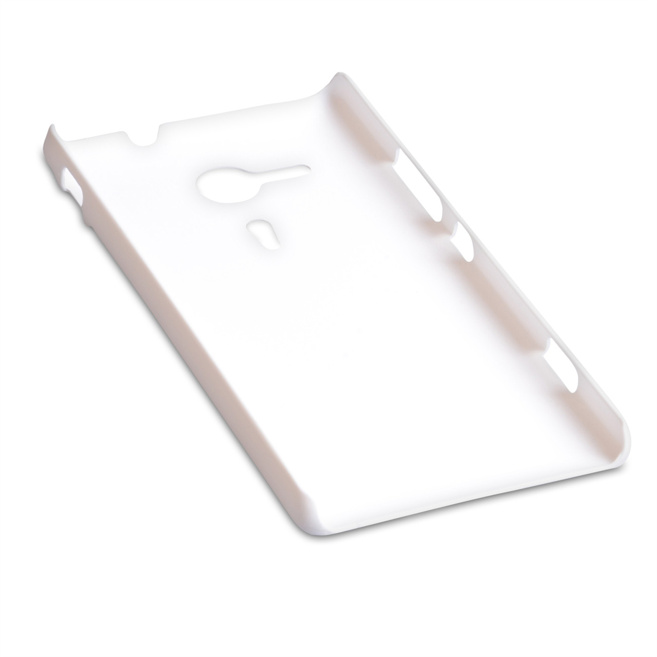 YouSave Accessories Sony Xperia SP Hard Hybrid Case - White