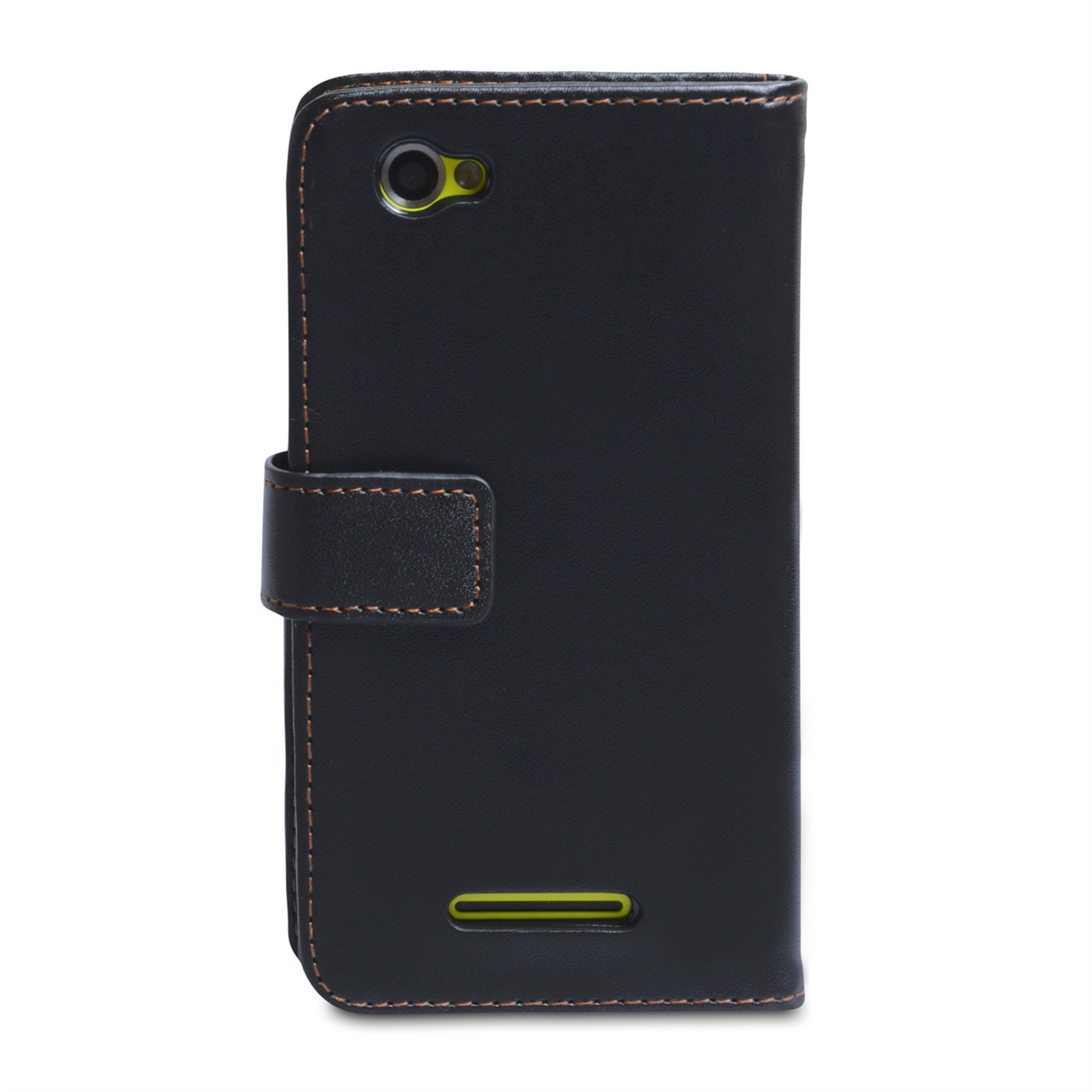 YouSave Accessories Sony Xperia M Black Leather Effect Wallet Case