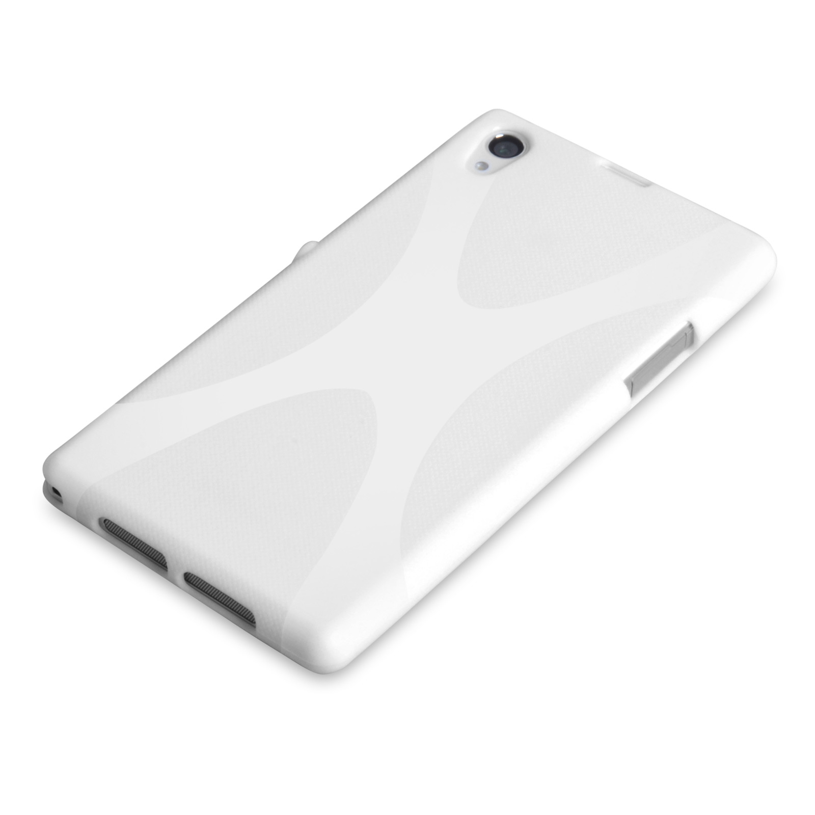 YouSave Accessories Sony Xperia Z2 Silicone Gel X-Line Case - White