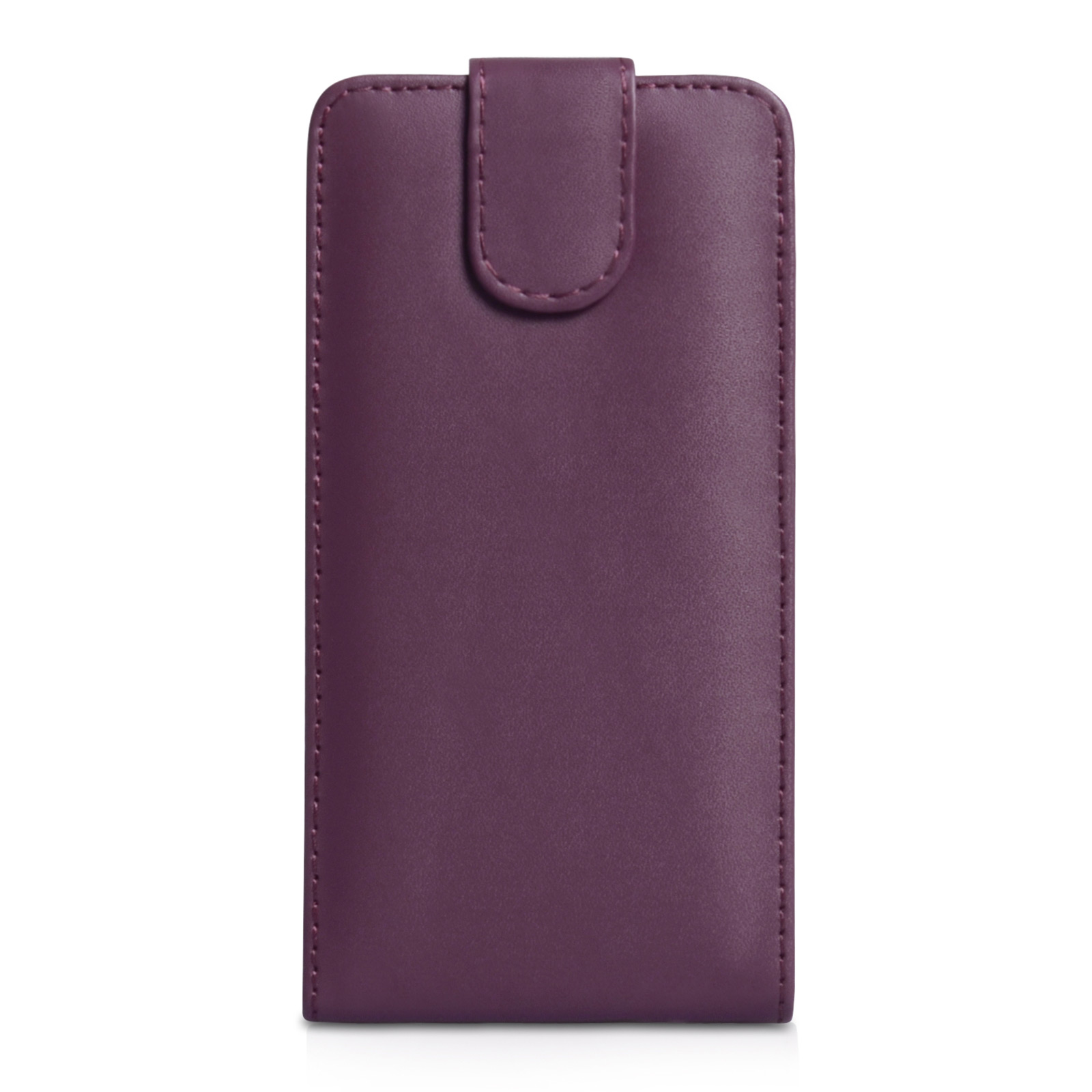 YouSave Accessories Sony Xperia Z2 Leather-Effect Flip Case - Purple