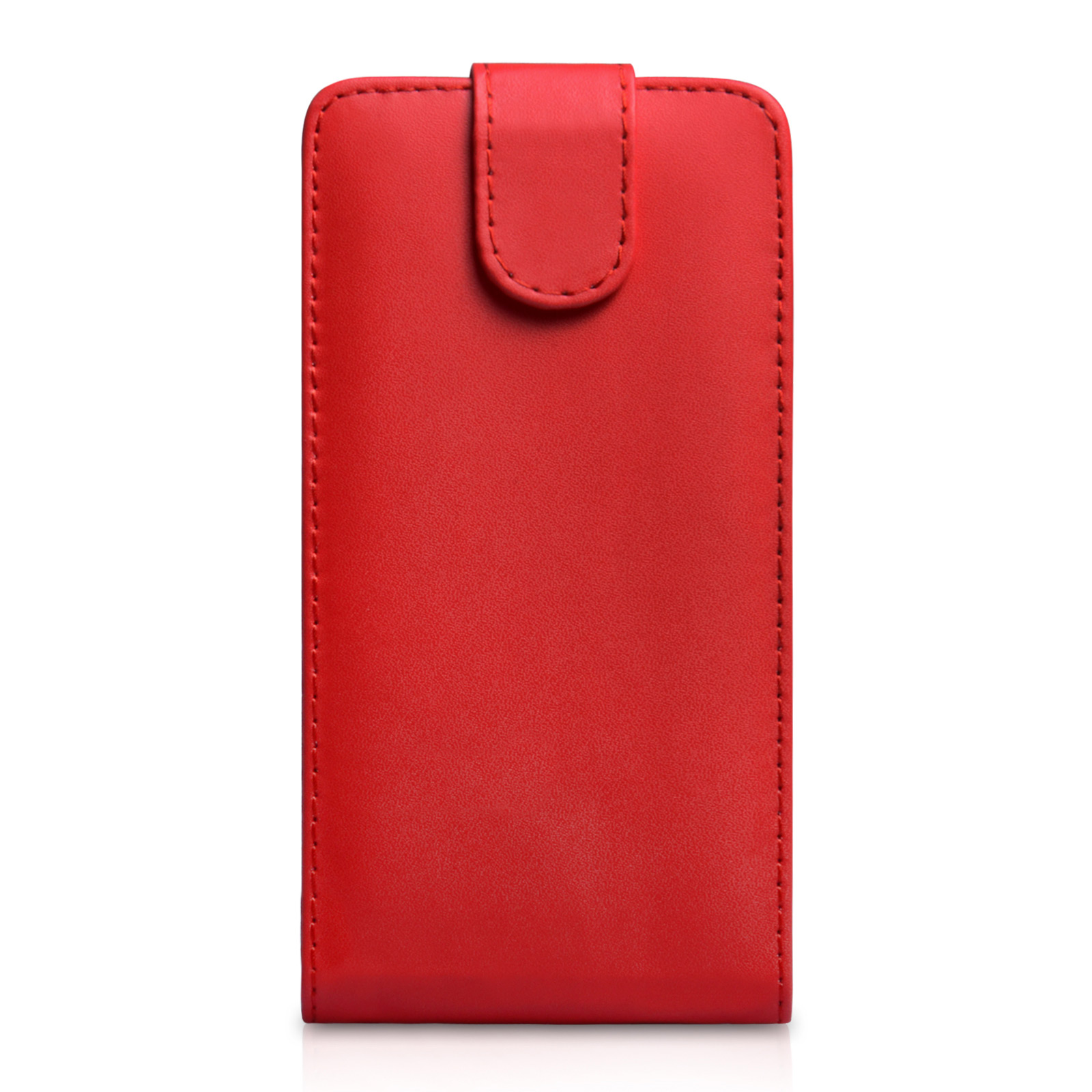 YouSave Accessories Sony Xperia Z2 Leather-Effect Flip Case - Red