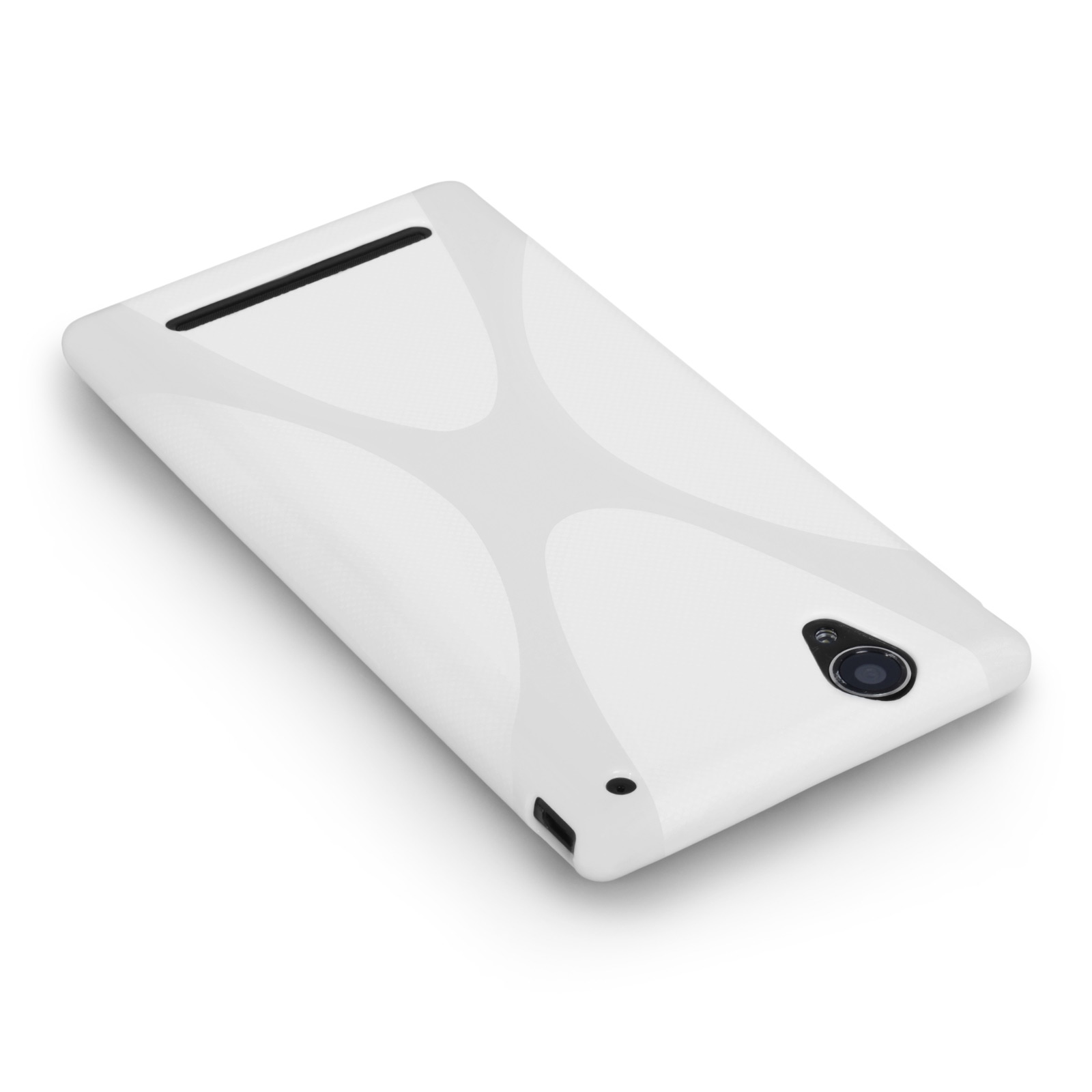 YouSave Sony Xperia T2 Ultra Silicone Gel X-Line Case - White