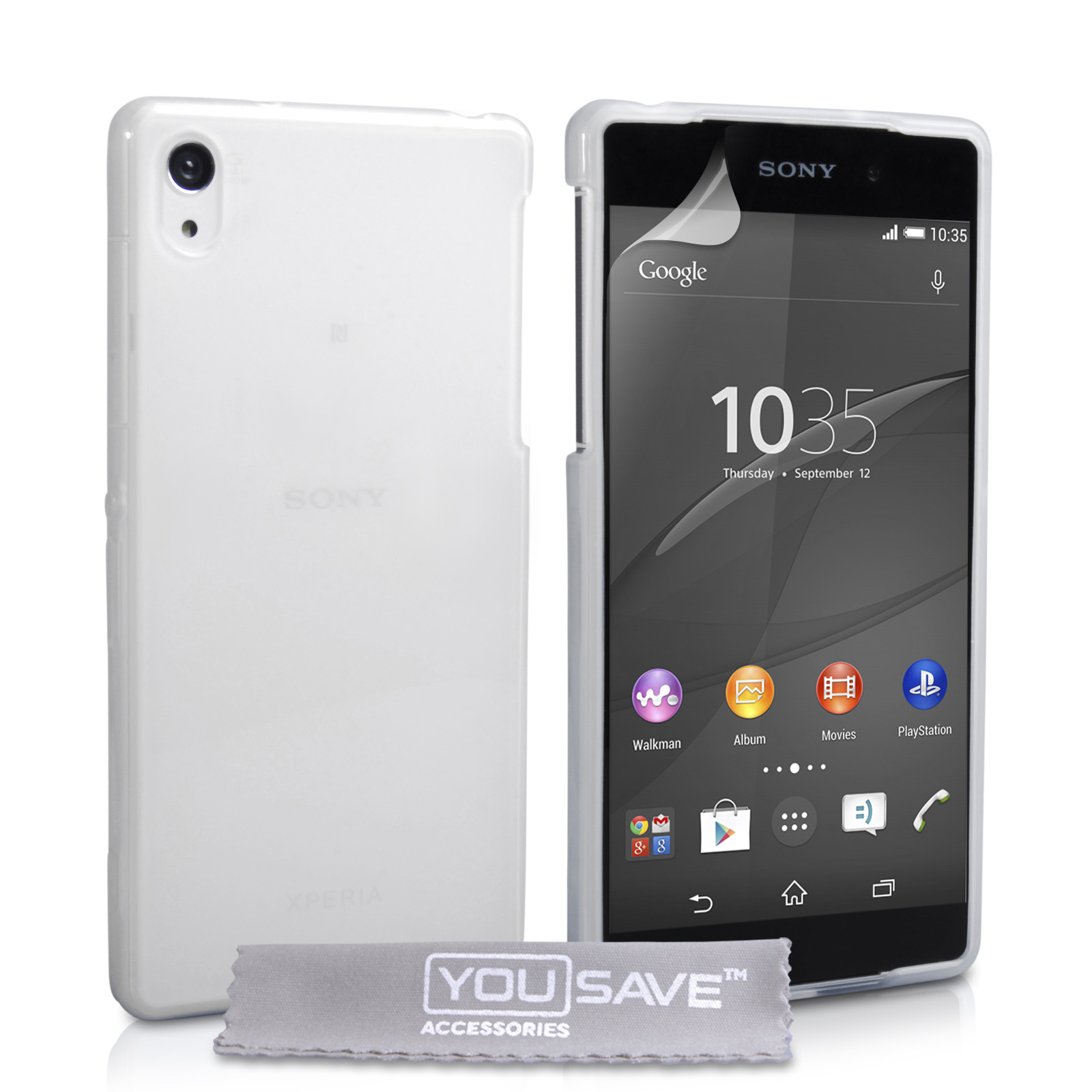 YouSave Sony Xperia Z4 Compact Silicone Gel Case - Clear