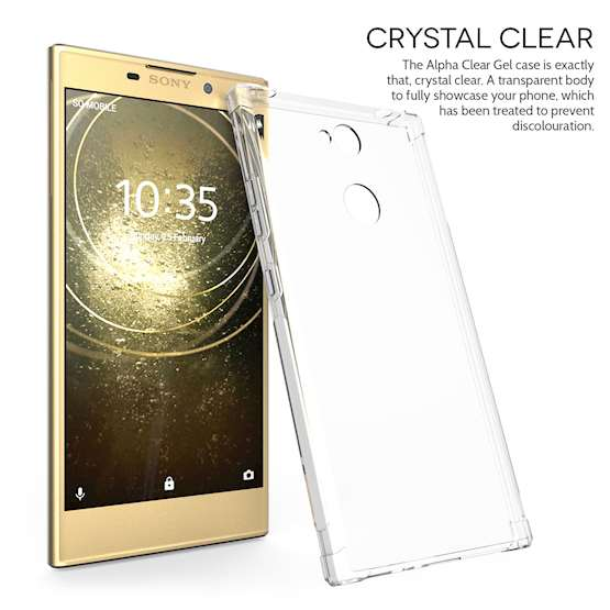 Sony Xperia L2 Alpha Case - Clear
