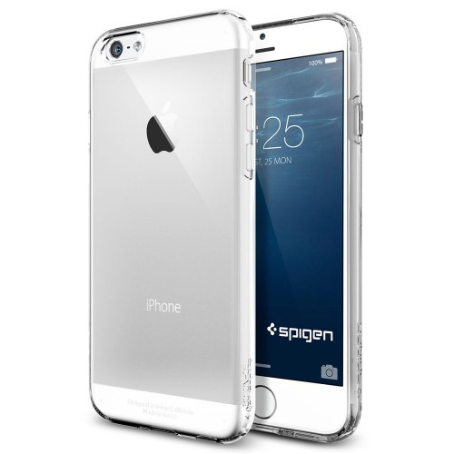 """Spigen iPhone 6 and 6s (4.7"""") Case Capsule Series - Crystal Clear"""