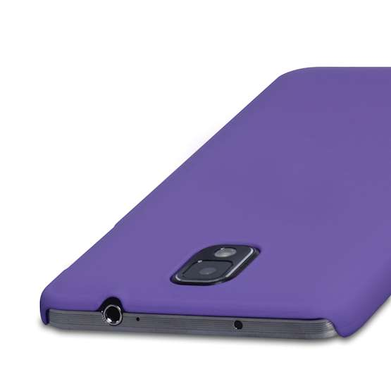 YouSave Accessories Samsung Galaxy Note 3 Hybrid Case - Purple
