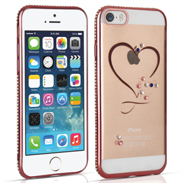 Apple iPhone 5/5S and SE Diamond Edge Case - Rose Gold