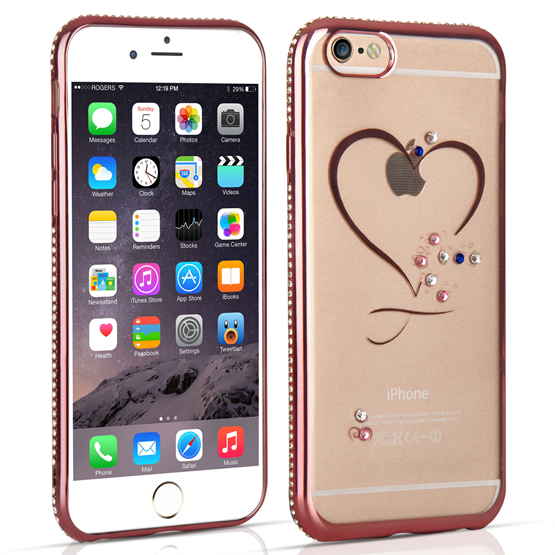 Apple iPhone 6/6S Diamond Edge Case - Rose Gold