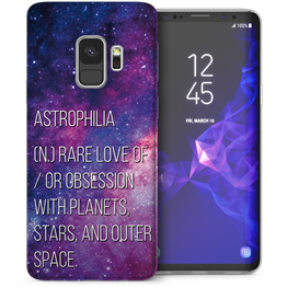 Samsung Galaxy S9 Astrophilia TPU Gel Case - Purple