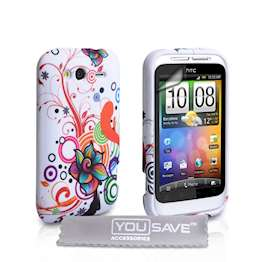 yousave-accessories-htc-wildfire-s-jellyfish-multicoloured-case