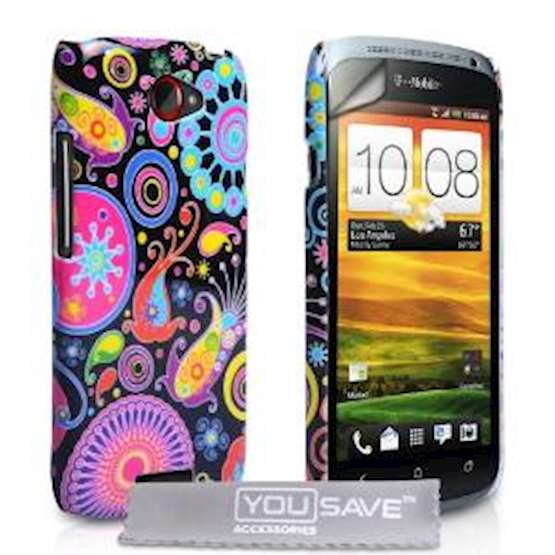 YouSave Accessories HTC One S Jellyfish Gel Case - Multicoloured