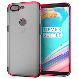 OnePlus 5T Shockproof Gel Case Red