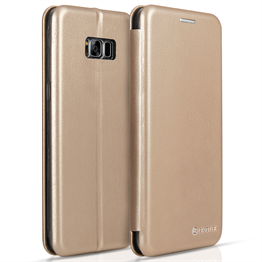 Caseflex Samsung Galaxy S8 Plus Snap Wallet Case - Gold