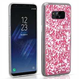 Samsung Galaxy S8 Tinfoil Case - Pink