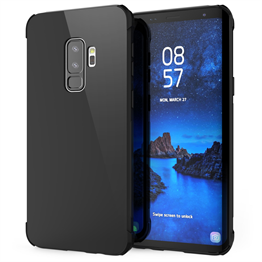 Caseflex Samsung Galaxy S9 Plus Alpha TPU Gel Case - Black