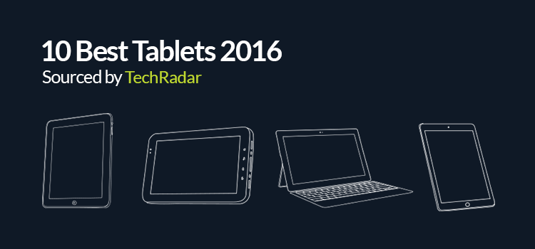 The 10 Best Tablets of 2016